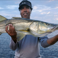 Darell and a Big Snook